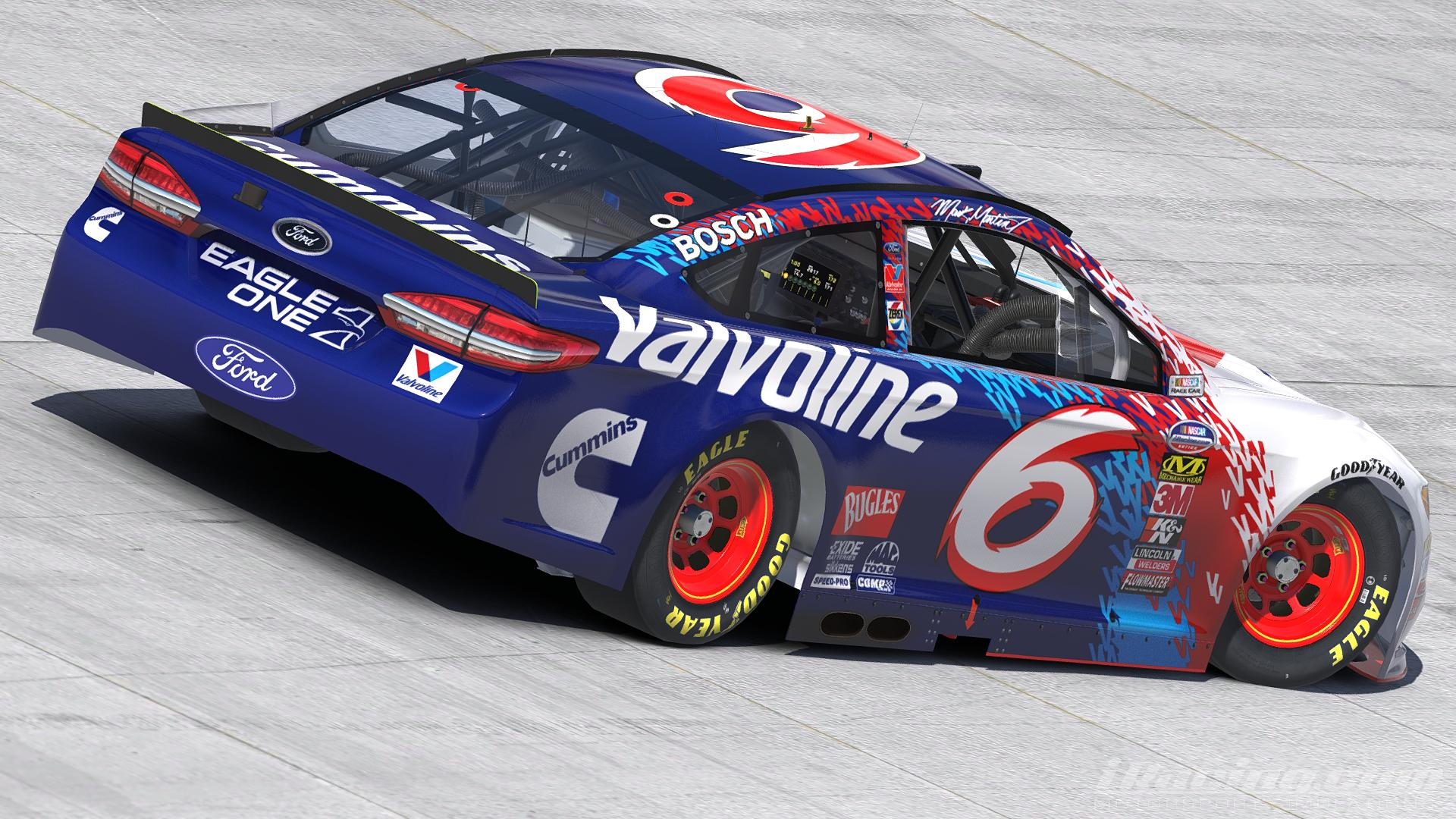 Preview of 1998 Mark Martin - Valvoline | Daytona 500  by Justin Rowden
