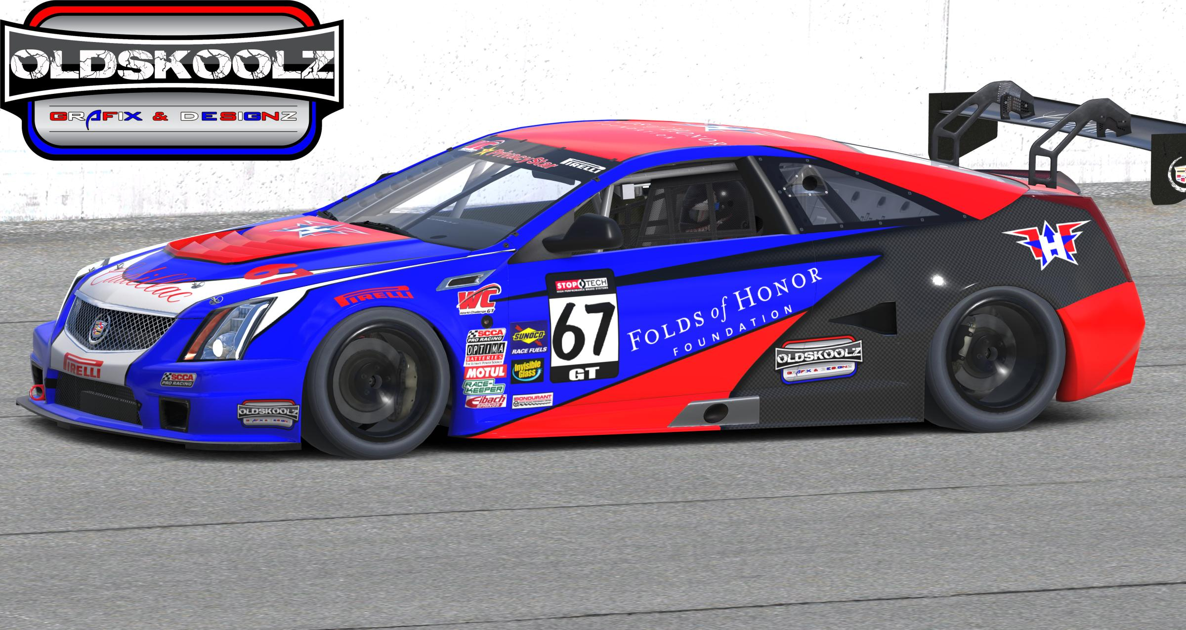 Folds Of Honor Caddy by Sean D  - Trading Paints