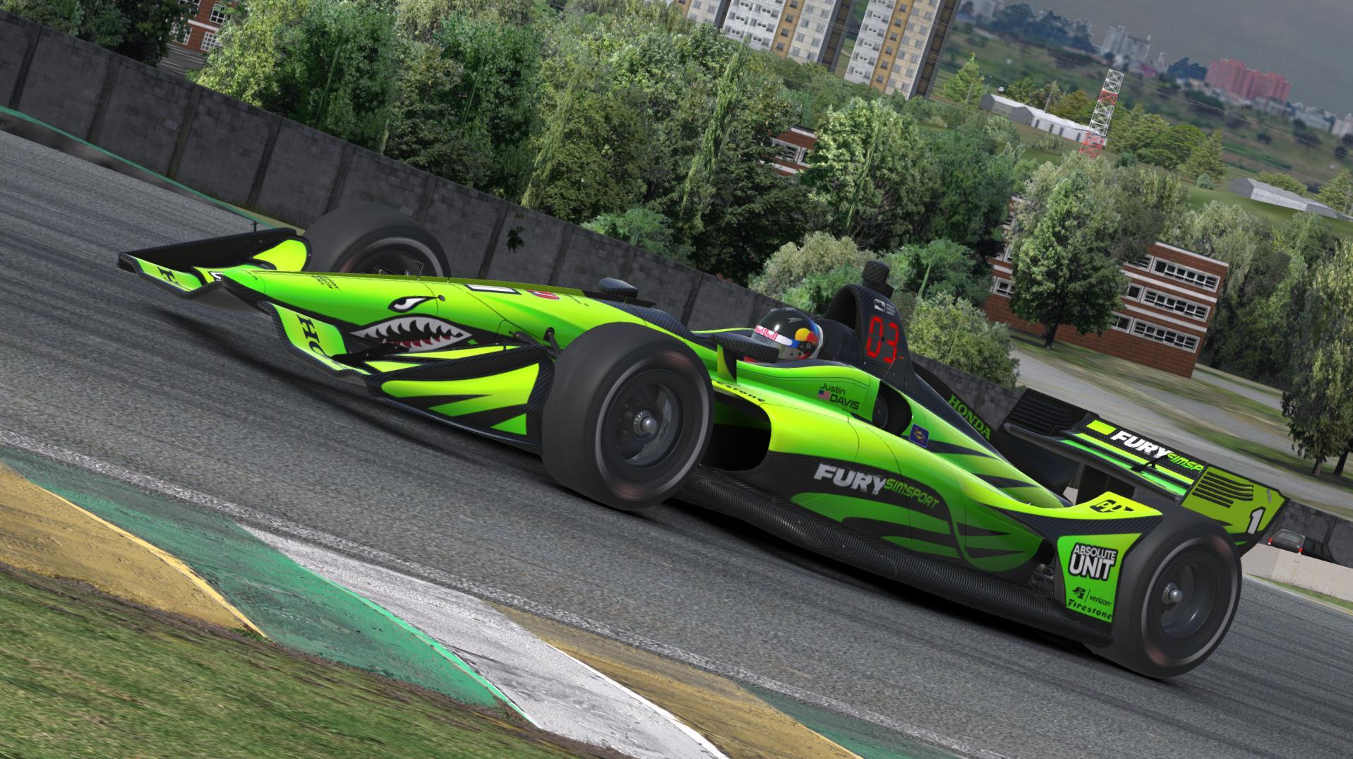 Preview of FURY SIMSPORT Dallara IR18 by Justin S Davis