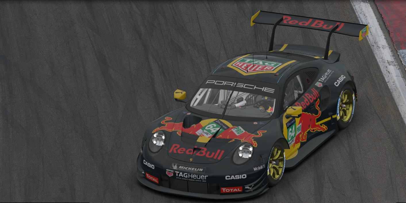 Preview of Porsche 911 RSR RedBull TagHeuer by Tom Yamaguchi