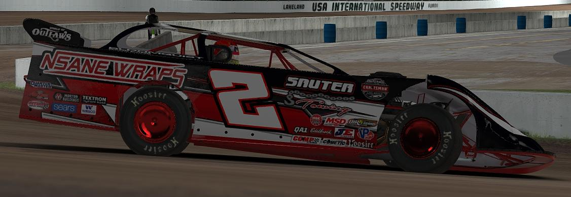 2018 Nsane Wraps WoO Late Model House Car by Jay Adair - Trading Paints