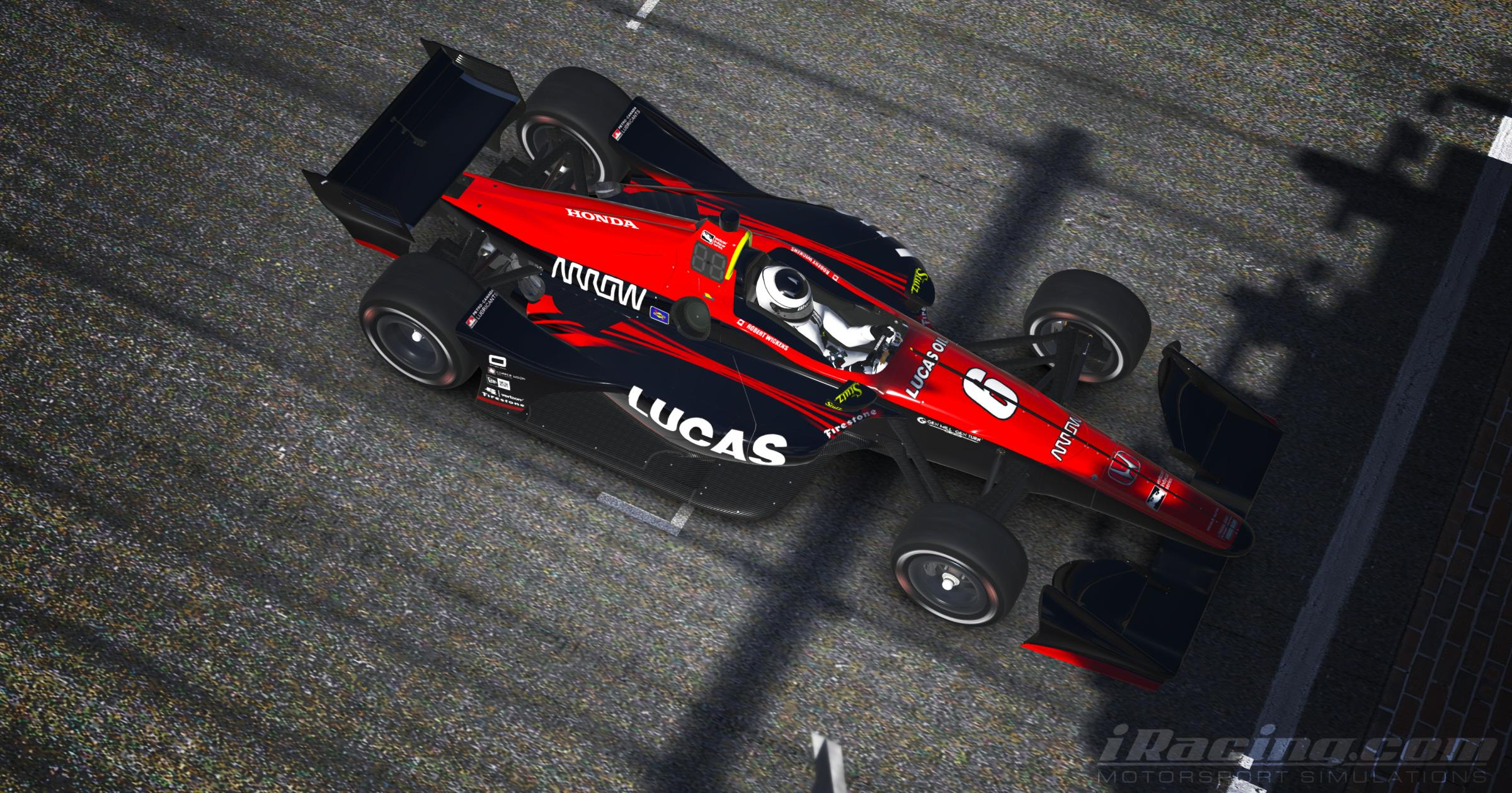 Preview of Robert Wickens 2018 Lucas Oil by Tyler King