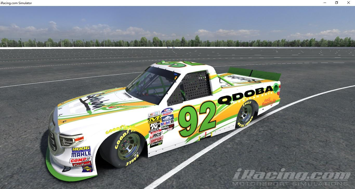 Toyota Tundra Truck 2015 Qdoba by Greg Cline - Trading Paints
