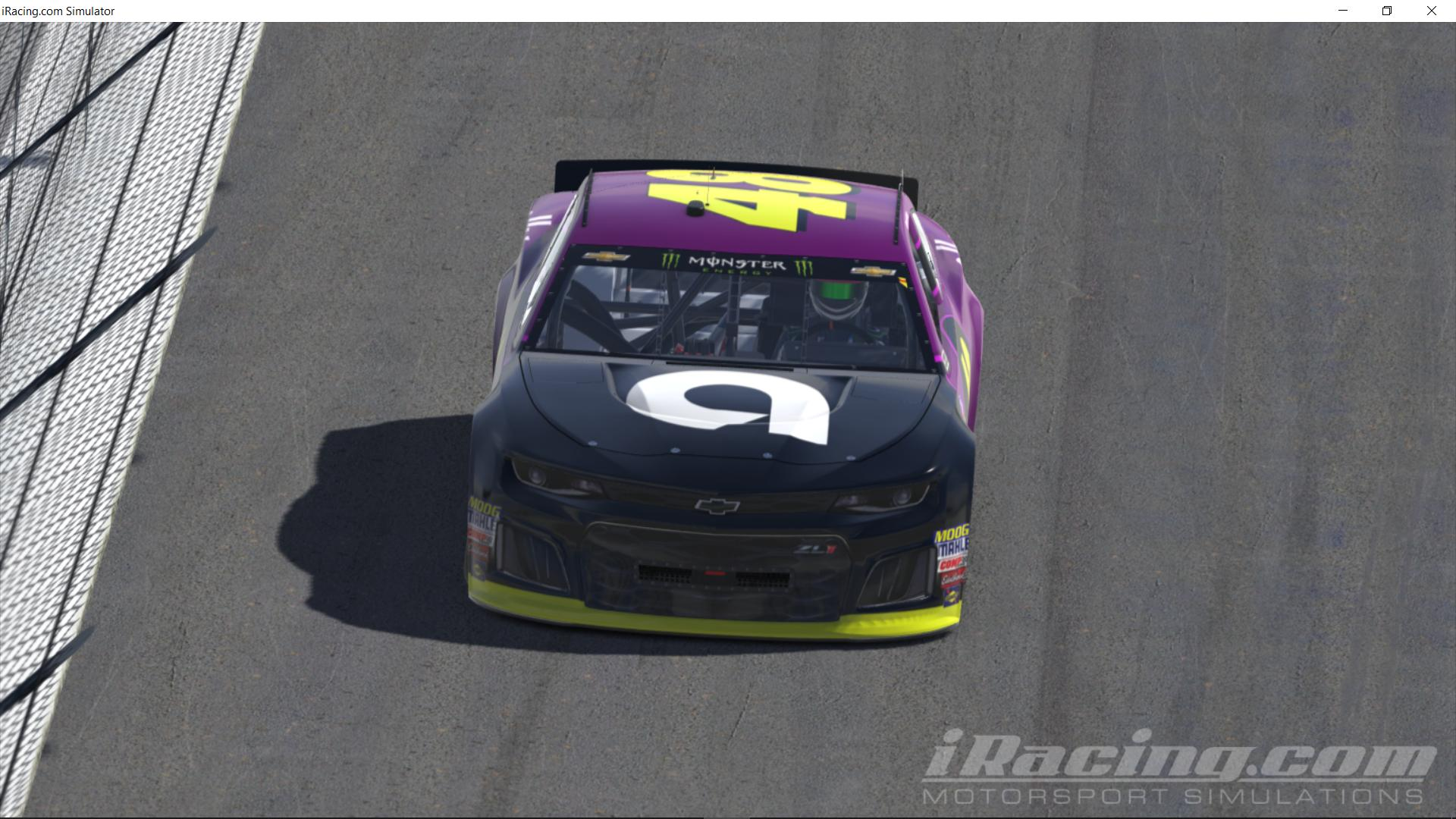Preview of 2019 Jimmie Johnson Ally Financial (Fictional) by Justin Bland