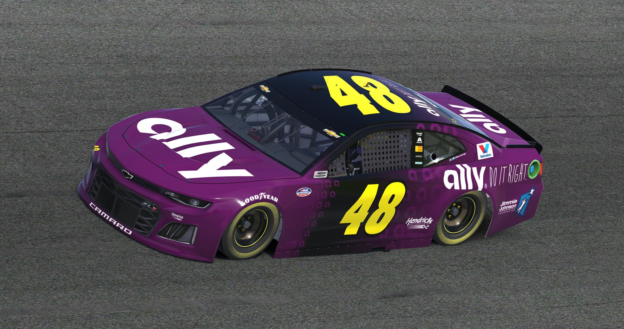 Preview of 2019 Jimmie Johnson Ally Concept v1 by Anthony Mahone