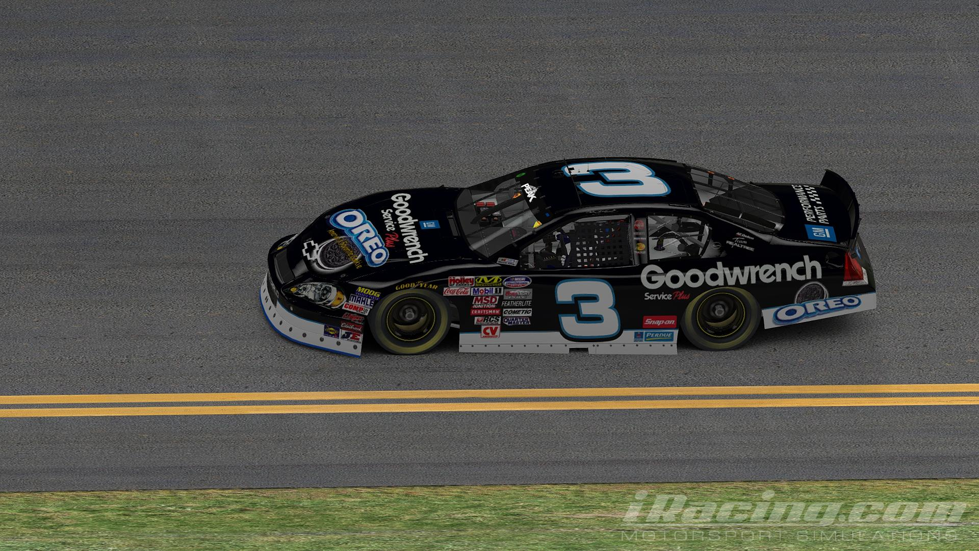 Preview of 2001 Dale Earnhardt Sr GM Goodwrench OREO - Budweiser Shootout by Brennan MaGee