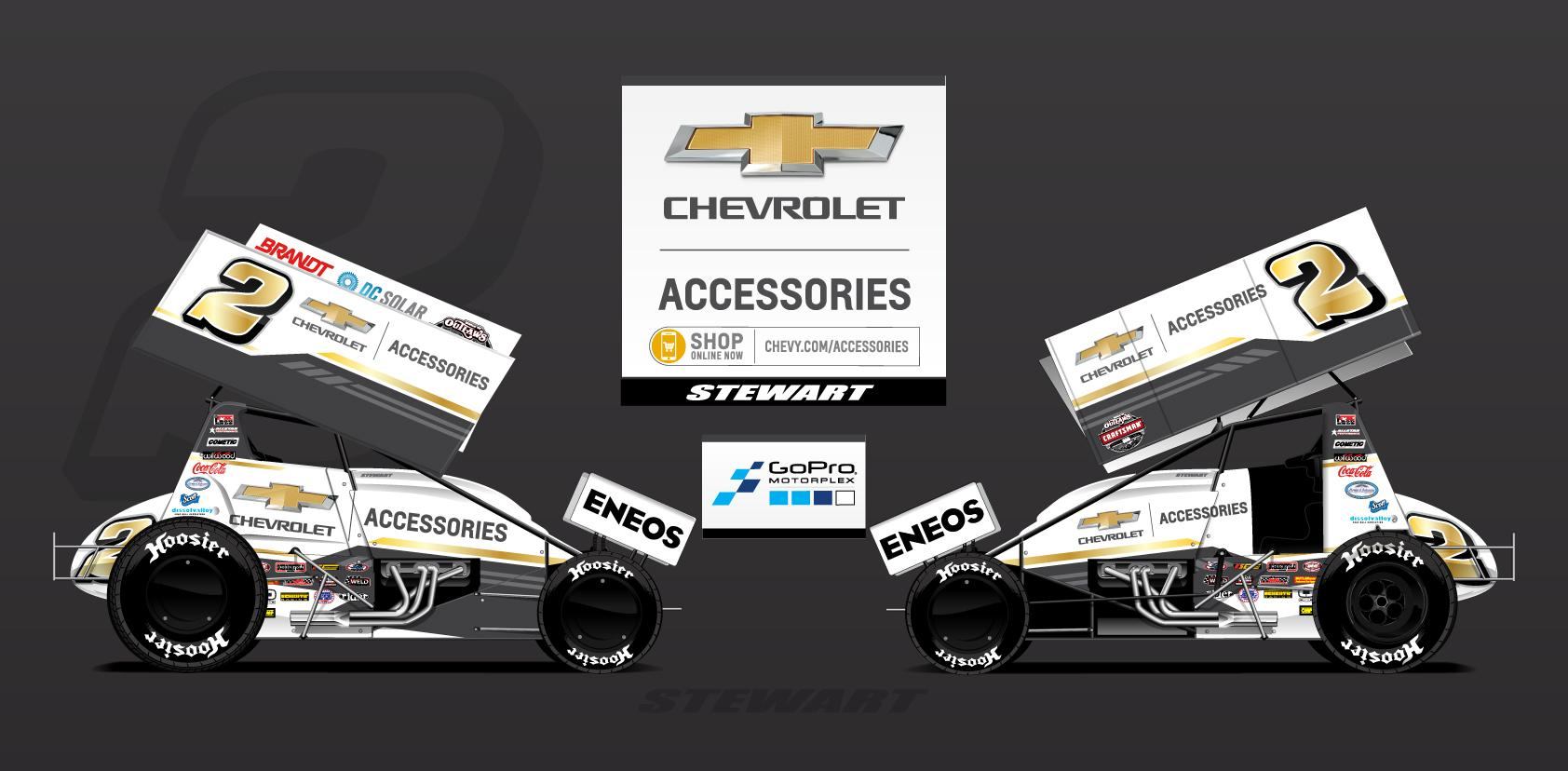Preview of Shane Stewart #2 Chevy Accessories 2018 World of Outlaws by Ryan Broderick