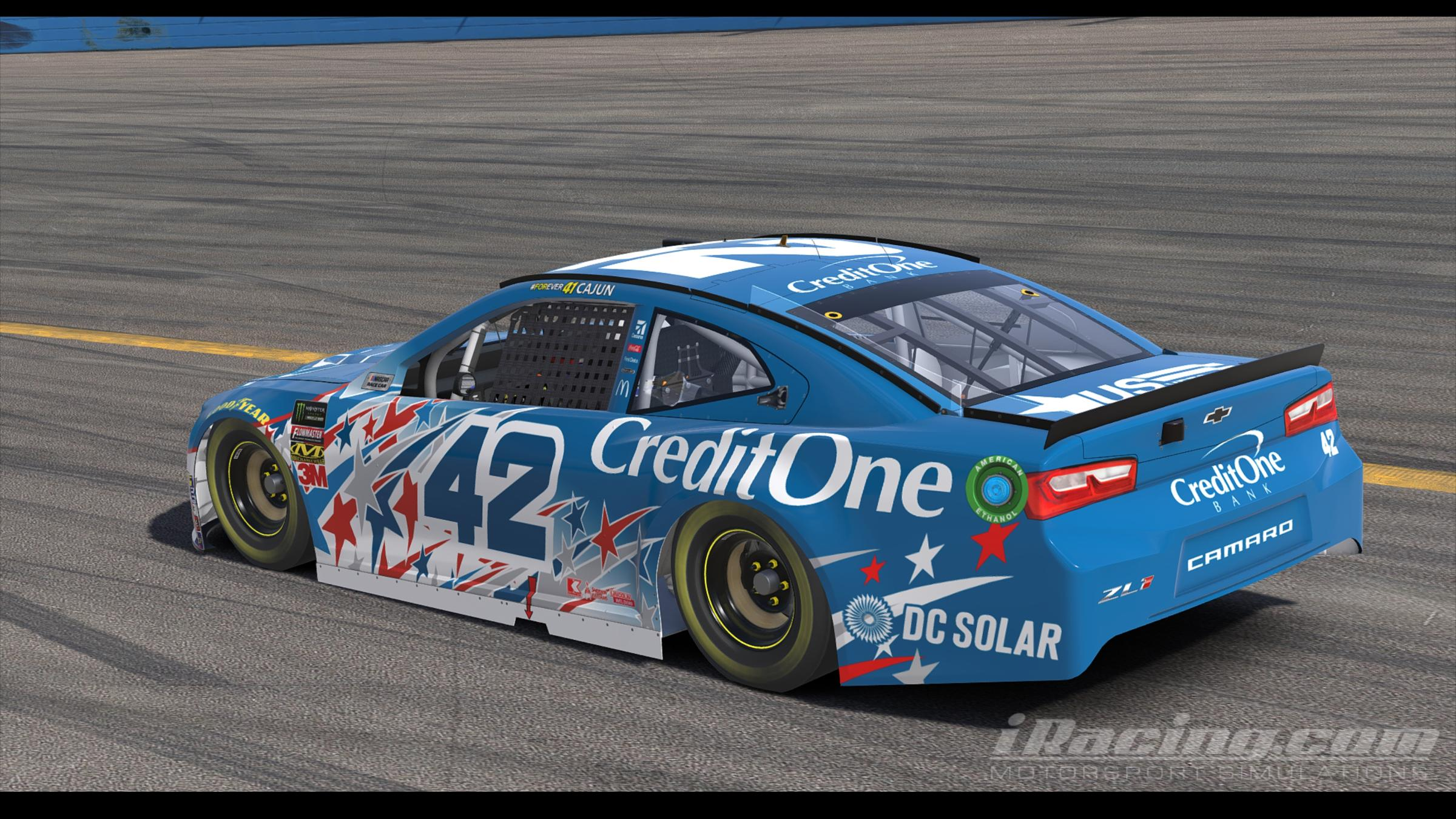 Preview of 2018 Kyle Larson CreditOne Chicagoland by Thomas Sink