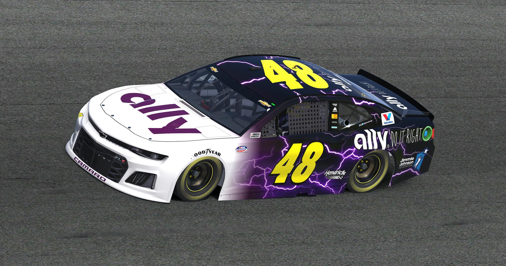 2019 Jimmie Johnson Ally Concept v2 by Anthony Mahone ...