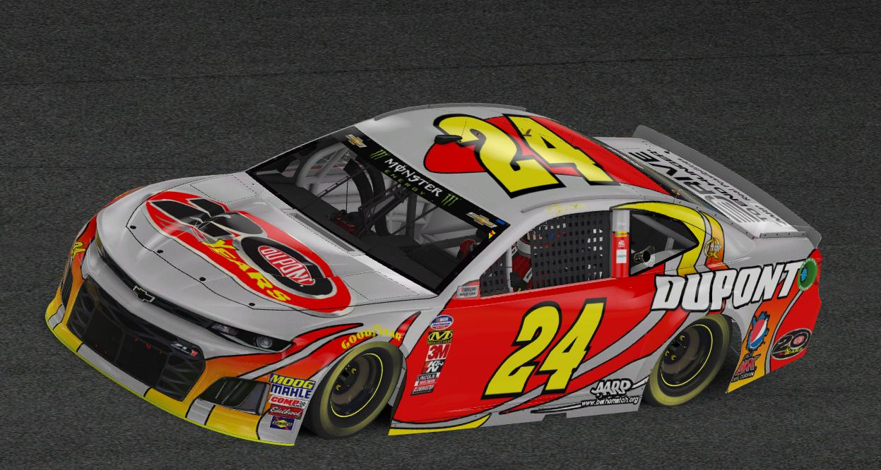 Preview of Jeff Gordon 2012 Dupont 20 Years Homestead Camaro by Aly Osman