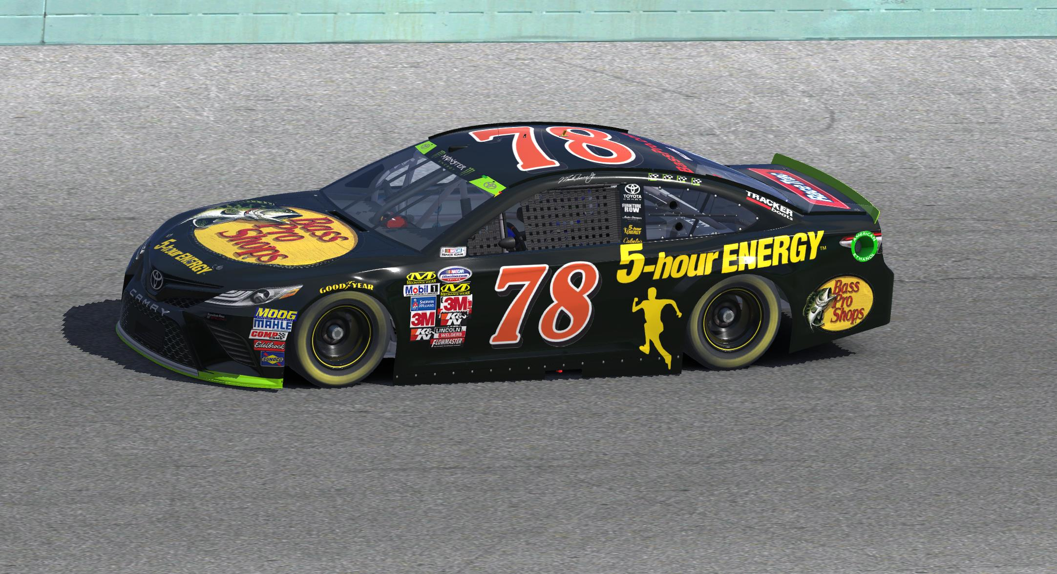 Preview of Martin Truex Jr. Final Furniture Row Racing Toyota by Justin M. Williams