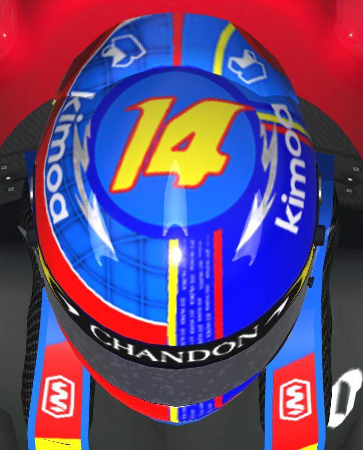 Preview of Fernando Alonso Special Helmet by Eugenio Stanislav
