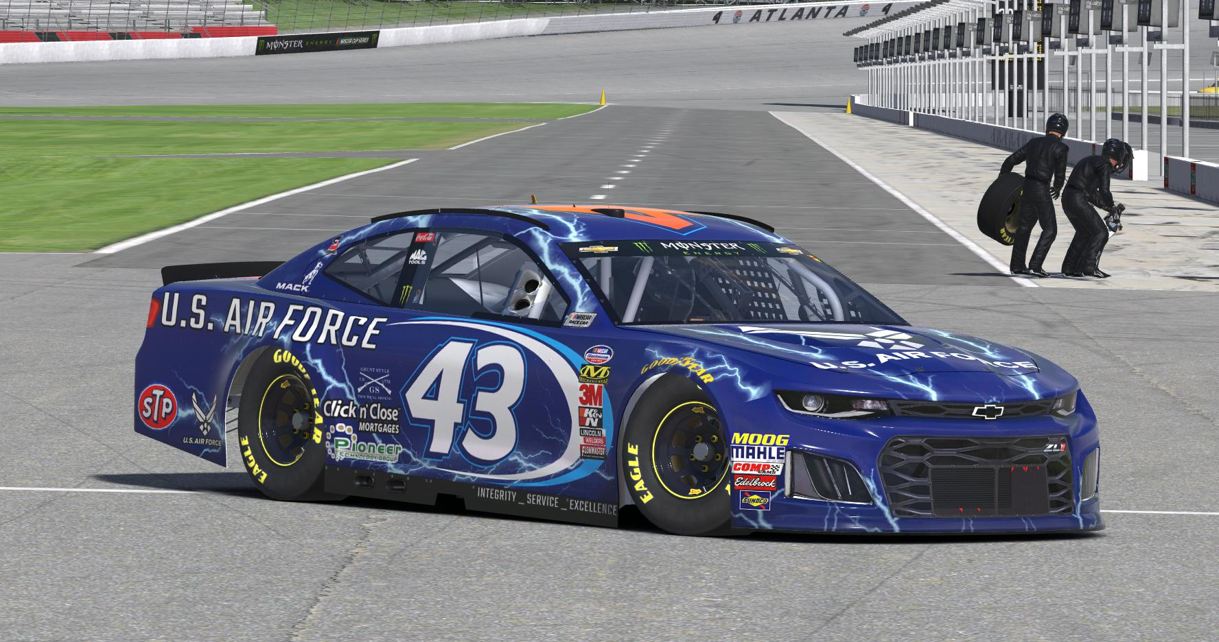 Preview of Bubba Wallace USAF 2018 by Erik Le