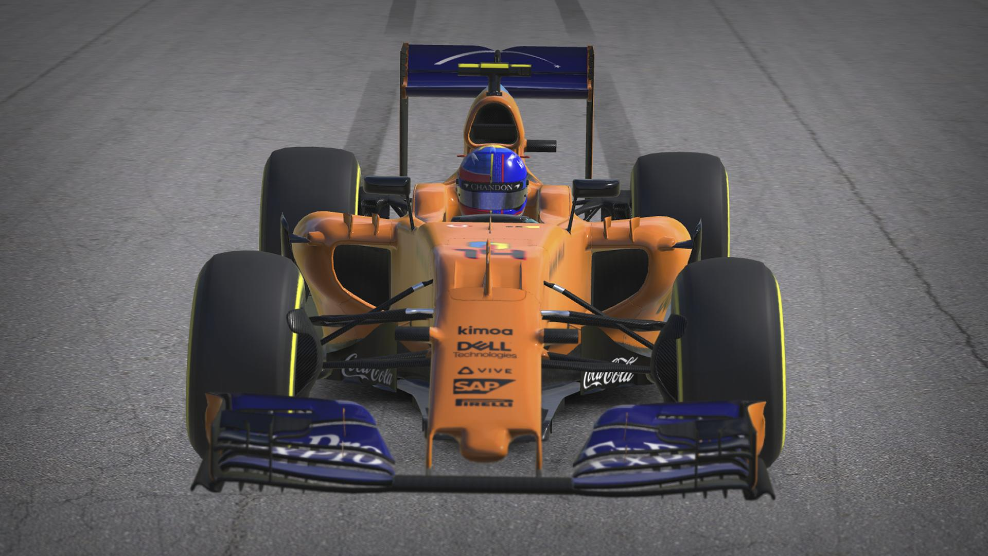 Preview of Mclaren MP4 30 Fernando Alonso Special Livery by Eugenio Stanislav