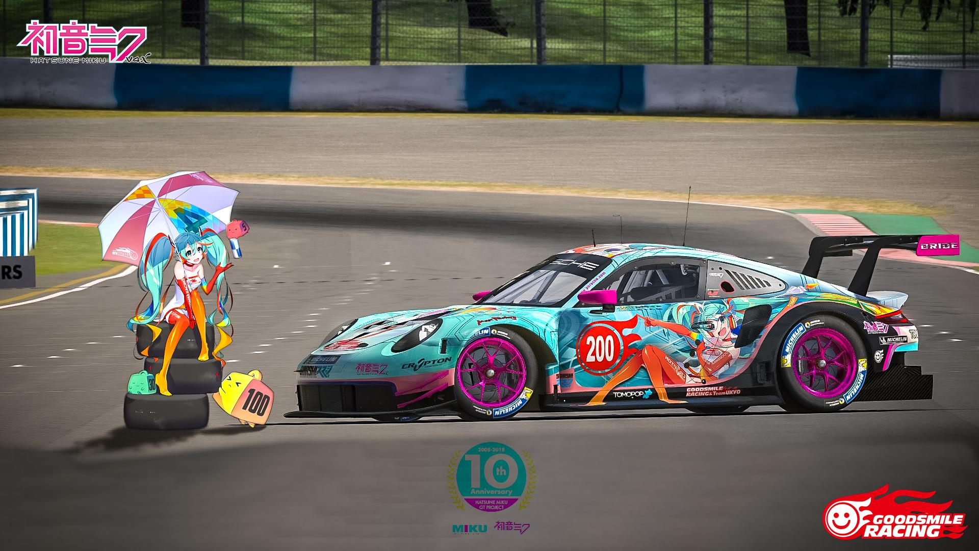 Preview of GoodSmile Racing by Paul Mansell