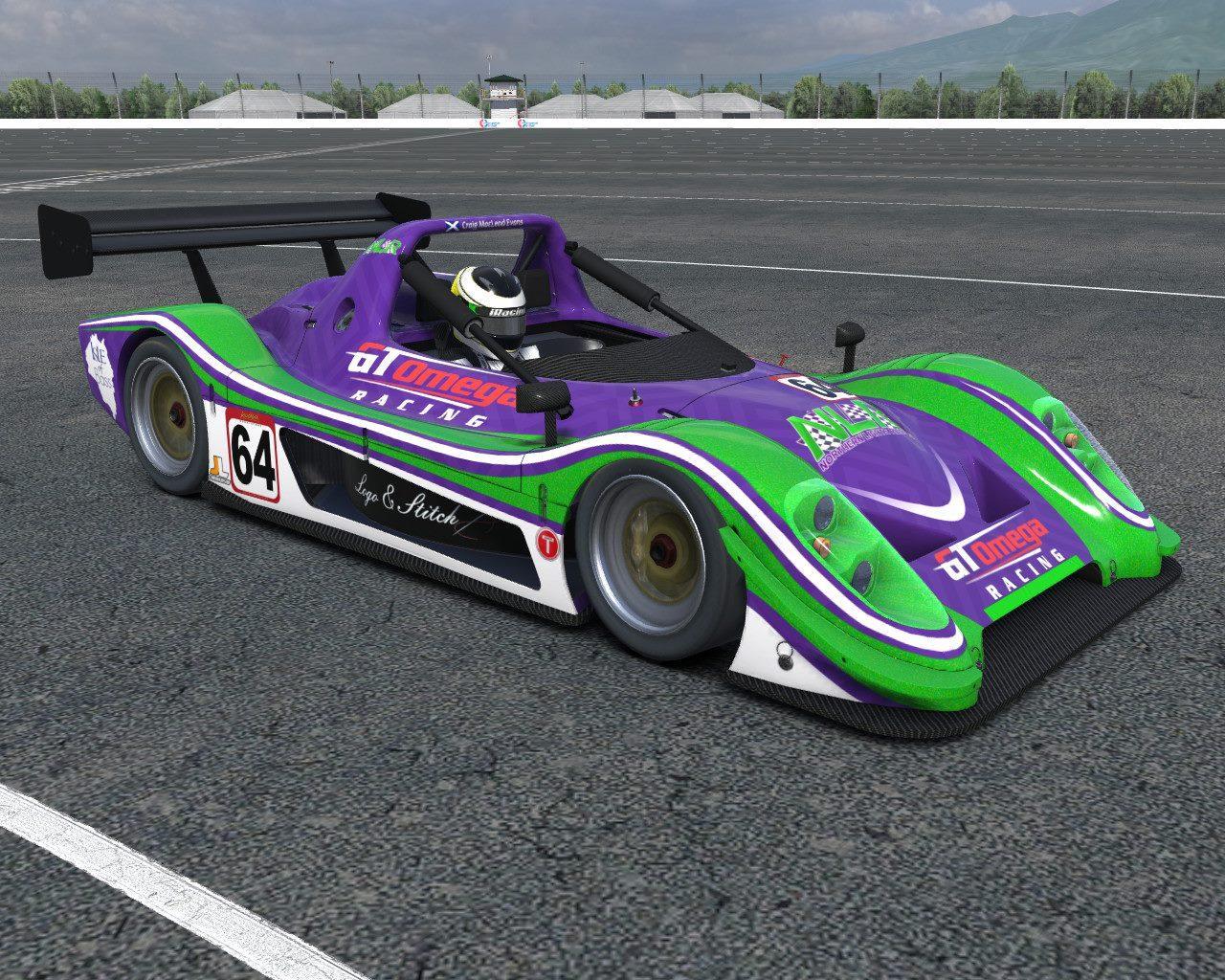 Craig Evans - Northern Lights Racing Radical SR8 by Craig MacLeod