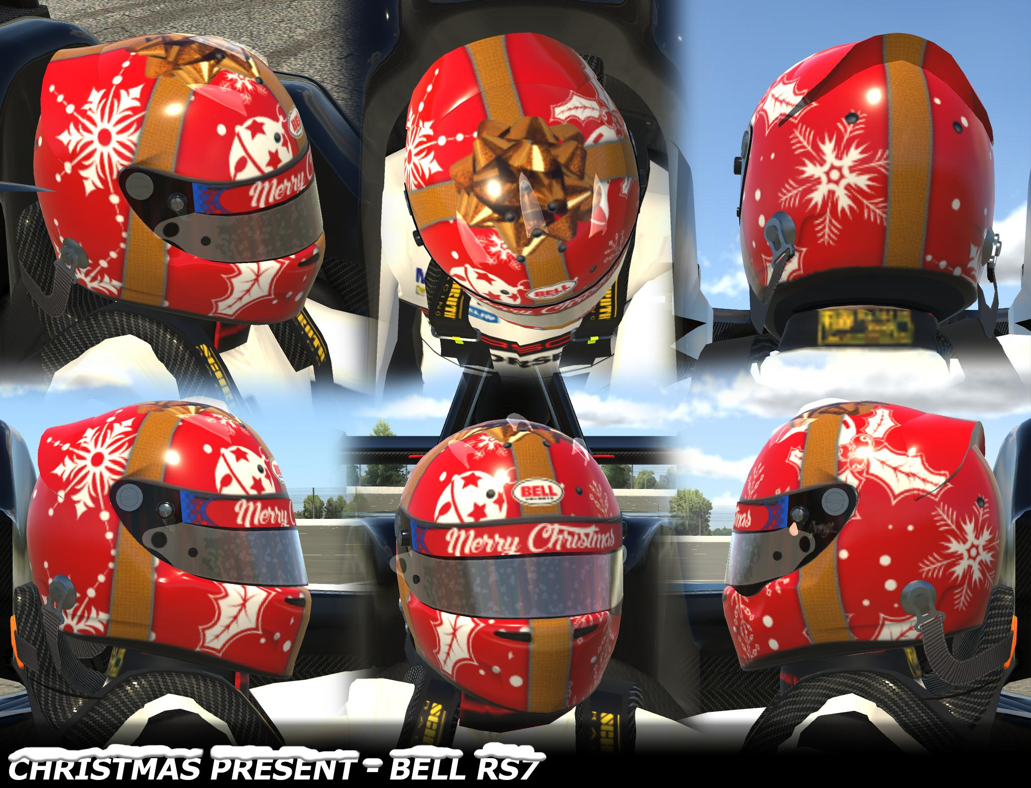 Preview of Christmas Present Helmet by George Simmons