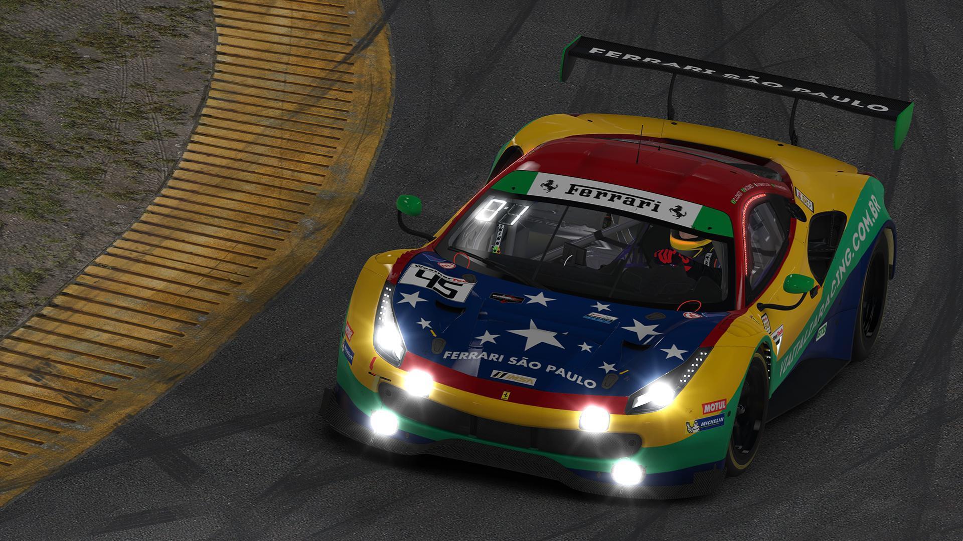 Preview of 2019 IMSA GTD - #13 Via Italia Racing by Jann Dircks