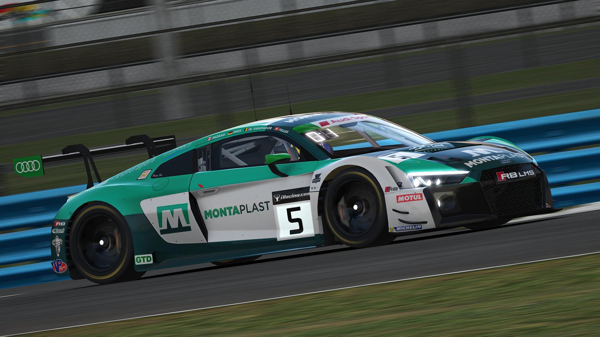 Preview of 2019 IMSA GTD - #29 Montaplast by Land Motorsport (Roar Before The 24 / Fixed for 19S2 Update) by Jann Dircks