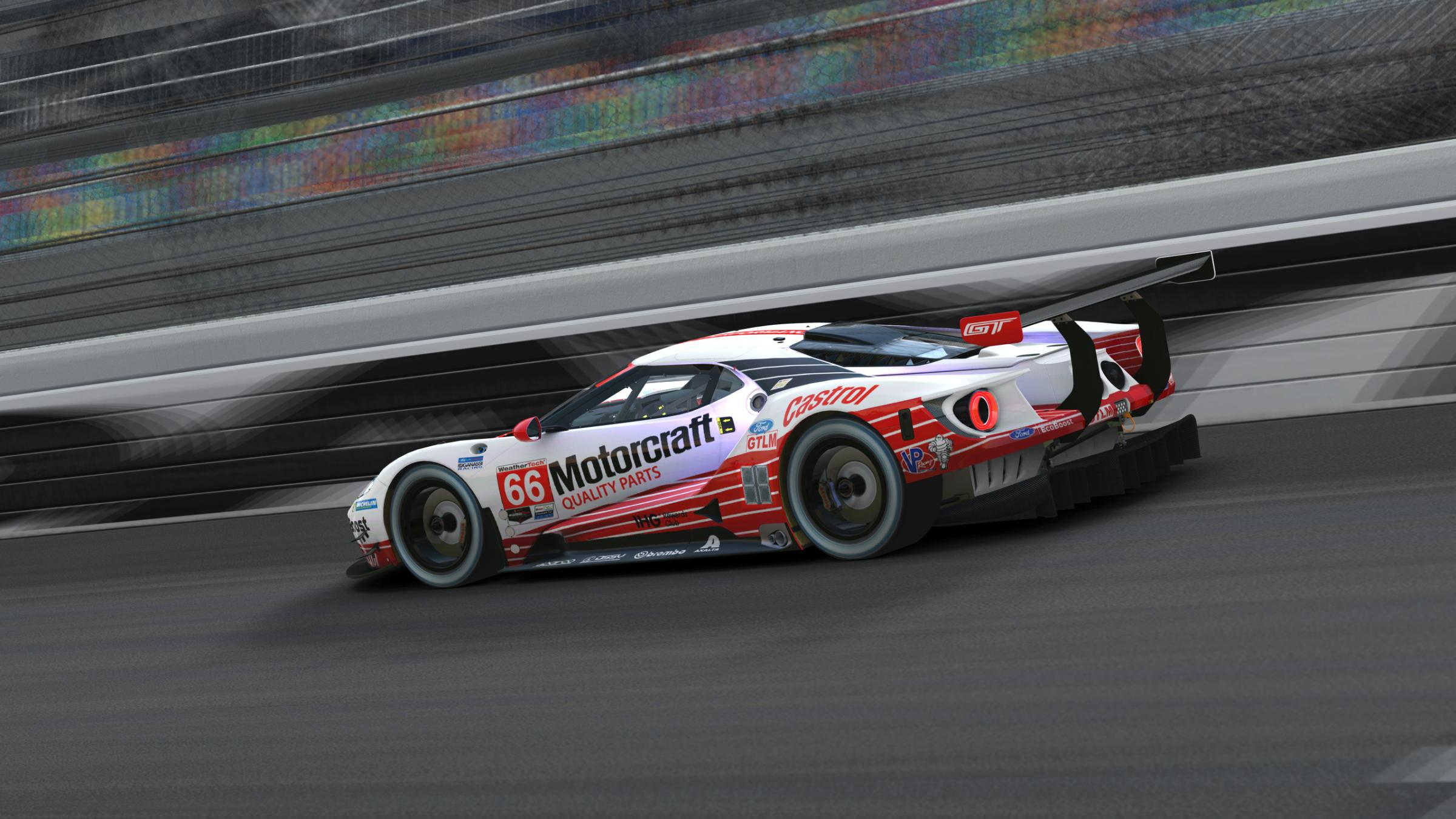 Preview of Motorcraft Quality Parts #66 Ford GT by Andrew Fawcett