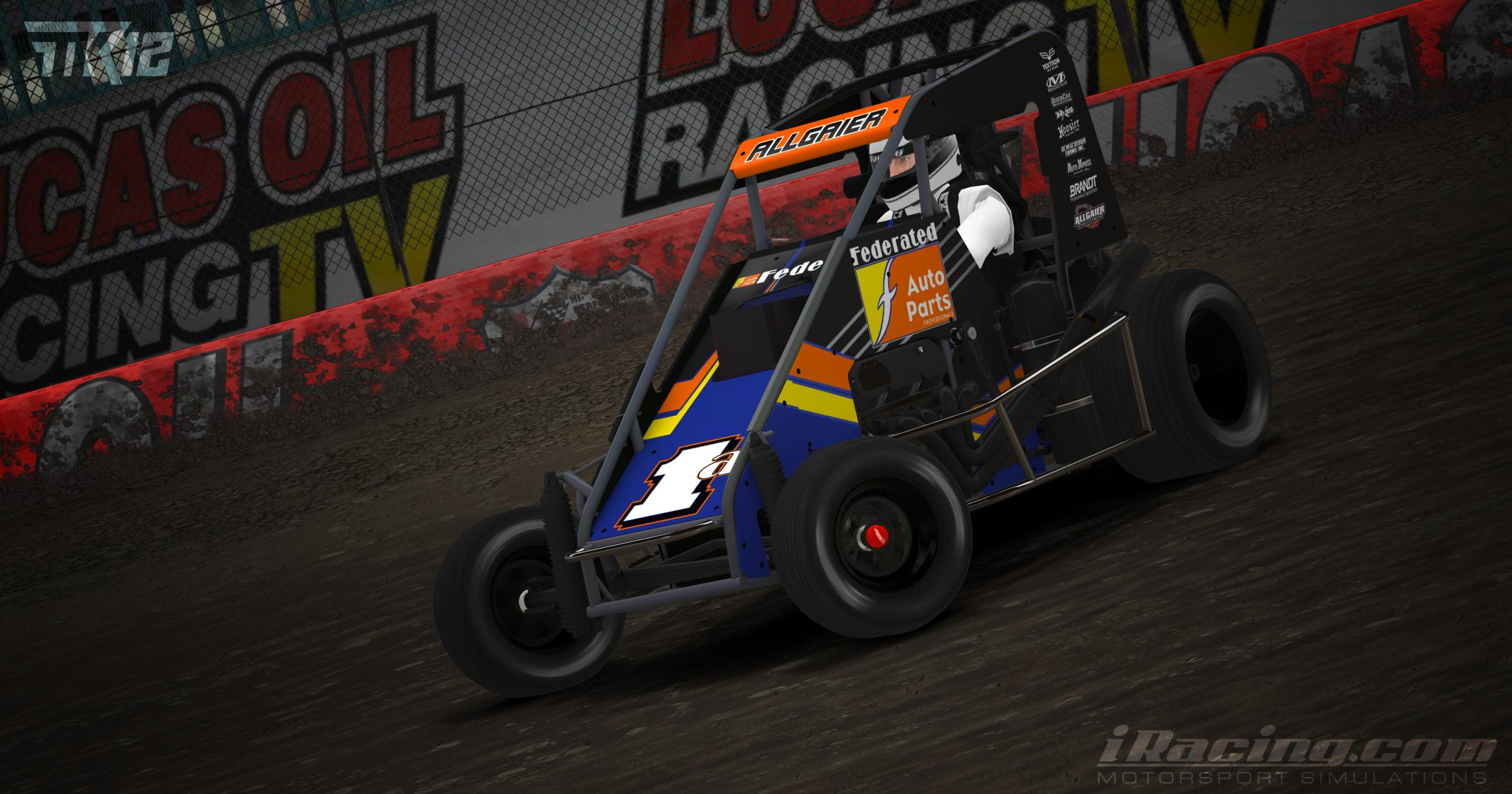 Preview of Justin Allgaier 2019 Chili Bowl Nationals by Tyler King