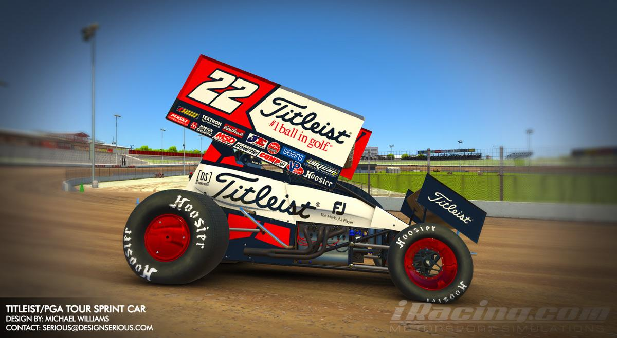 Preview of Titleist/PGA Tour Sprint Car by Design Serious by Michael F Williams