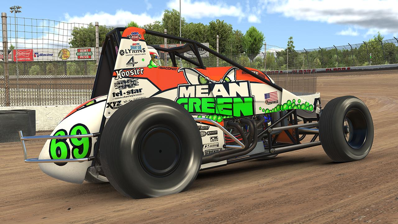 Preview of Brady Bacon 2019 Hoffman Racing by Dustin Enderle