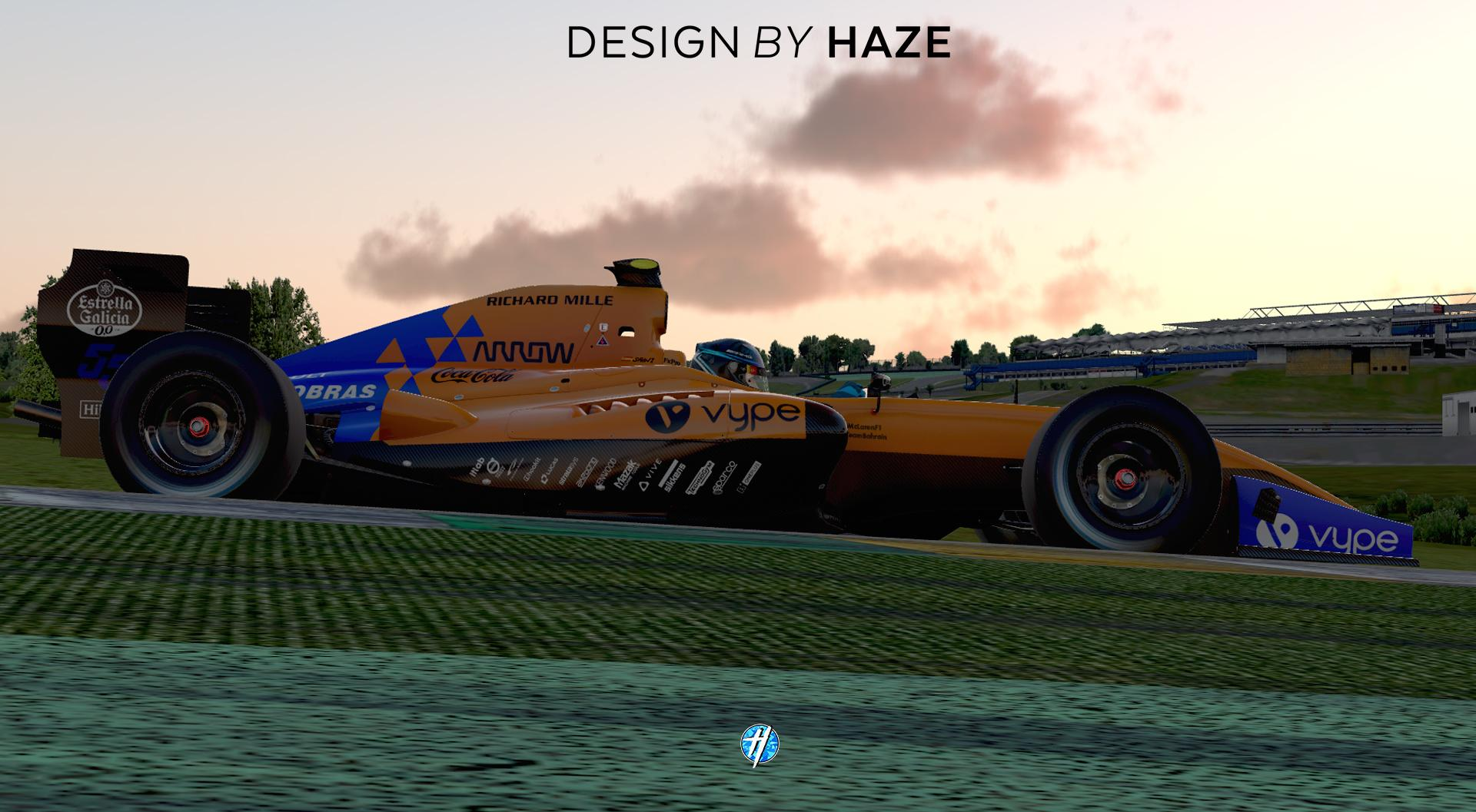 Preview of MCL 34 Formula Renault 3 5 by Simon H.
