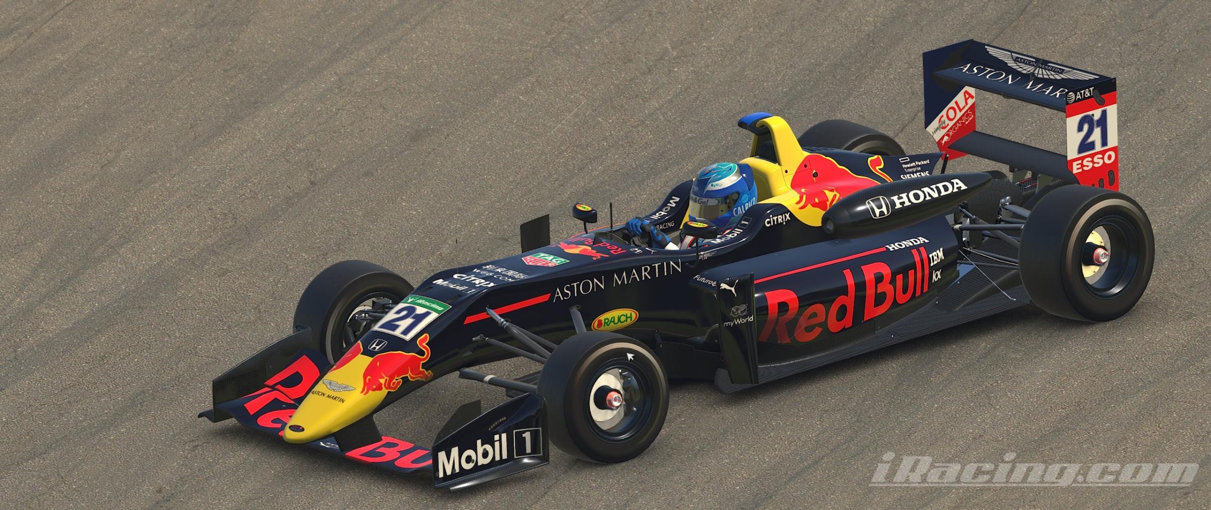Preview of Aston Martin Red Bull Racing HONDA RB15 / F3 by Noriyuki Mizuno