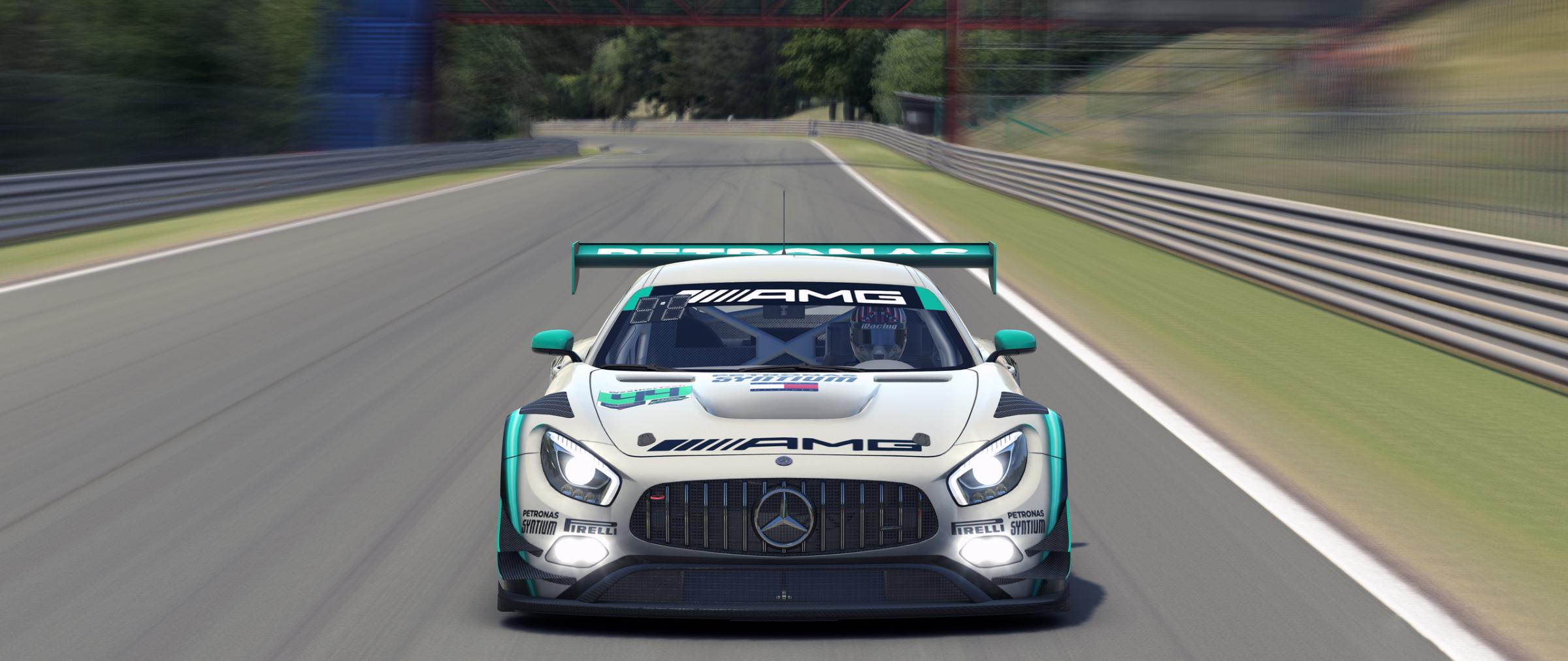 Preview of AMG Petronas Motorsport (2019) - Petronas by Timothy Collier