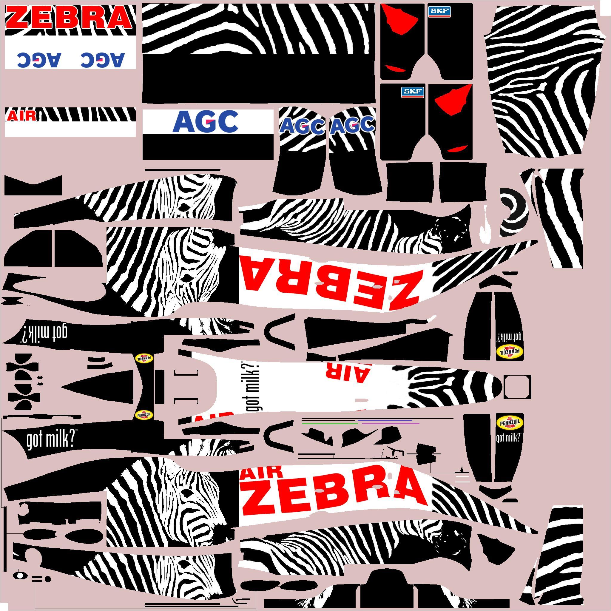 Preview of Dallara F3 Zebra Air by Clyde Coman