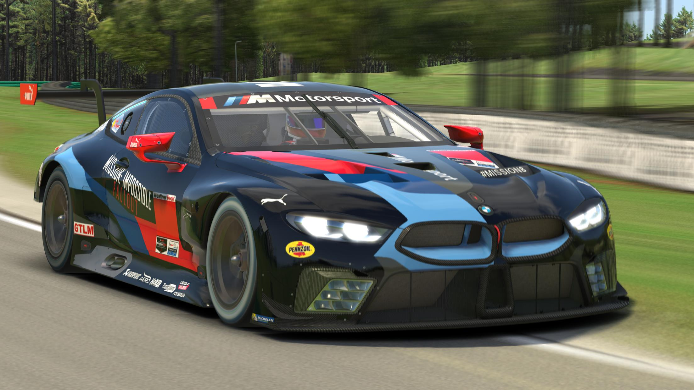 Preview of Black #24 RLL M8 GTLM Livery - IMSA by Andrew Fawcett