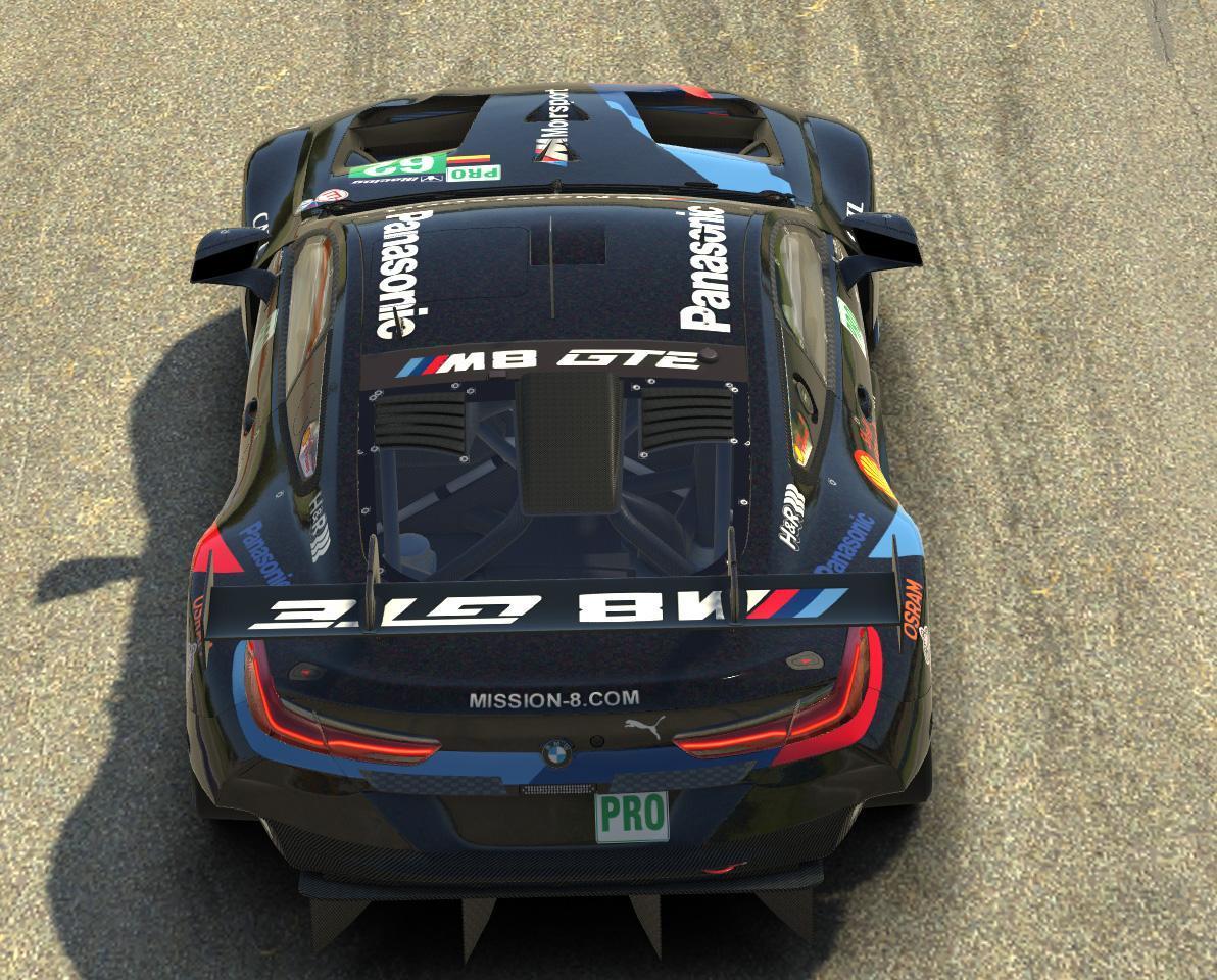 Preview of BMW M8 GTE Black Edition by Erik W Schramm