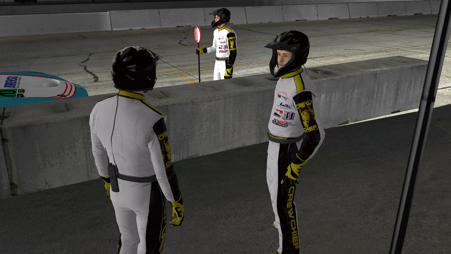 Preview of CrewChief Suit by Bill Krause