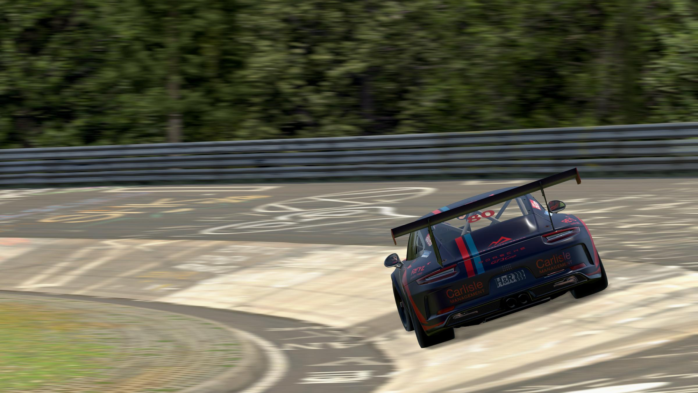 Preview of Huber Motorsport Porsche 911 GT3 Cup by Vincent Van der Heyden
