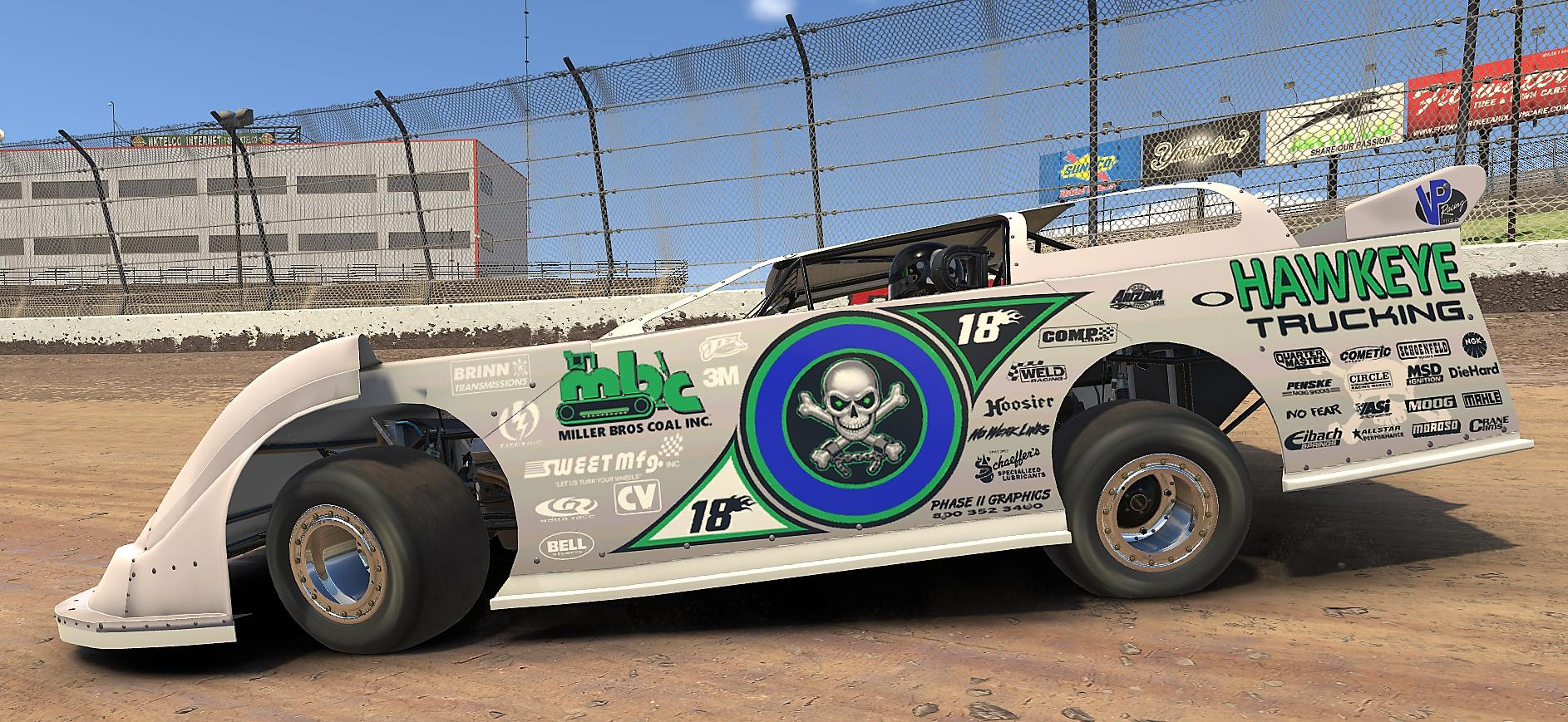 Preview of BLOOMQUISTS INFAMOUS SILVER ANNIVERSARY CAR/ WITH CUSTOM NUMBER by Byron Morris