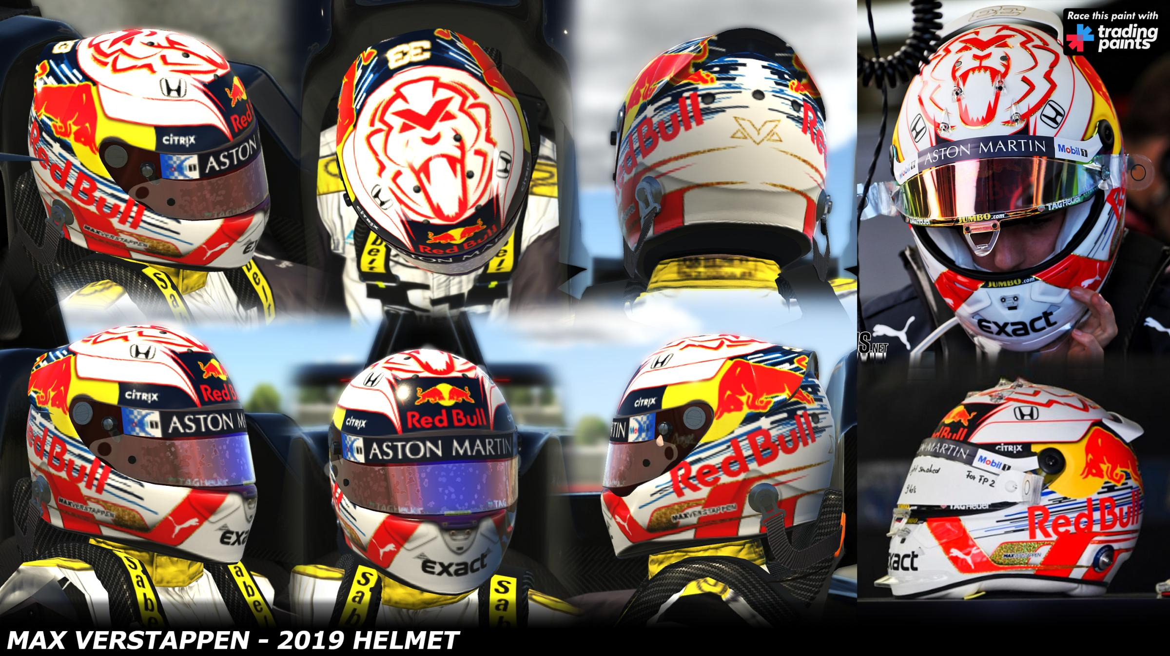 Preview of Max Verstappen 2019 by George Simmons