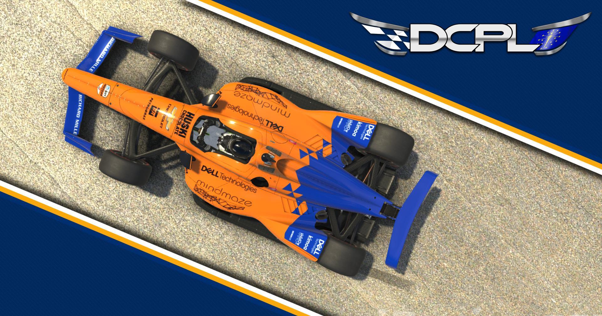 Preview of Fernando Alonso McLaren 2019 Indianapolis 500 Entry by Sean Disbro2