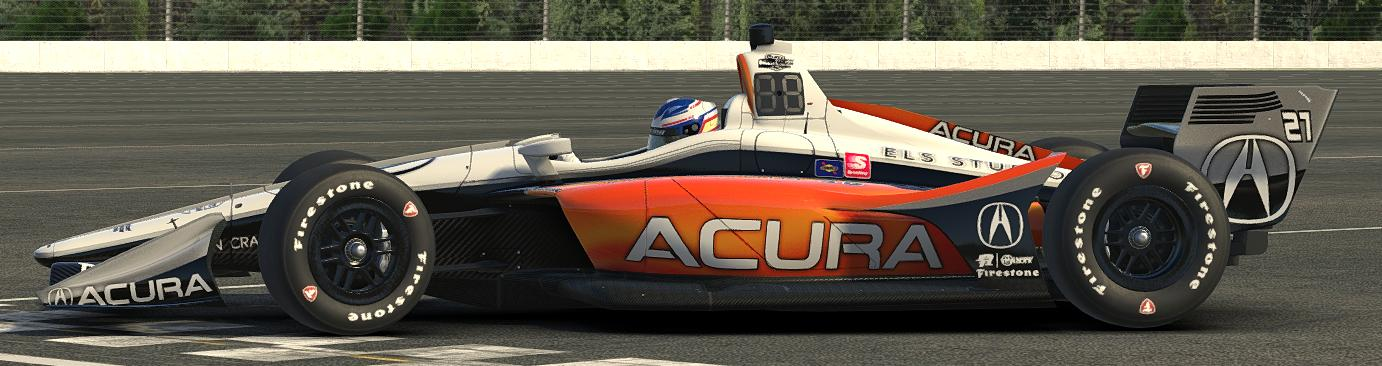 Preview of  IR18 Acura(Now with spec map!) by Cade Mckee