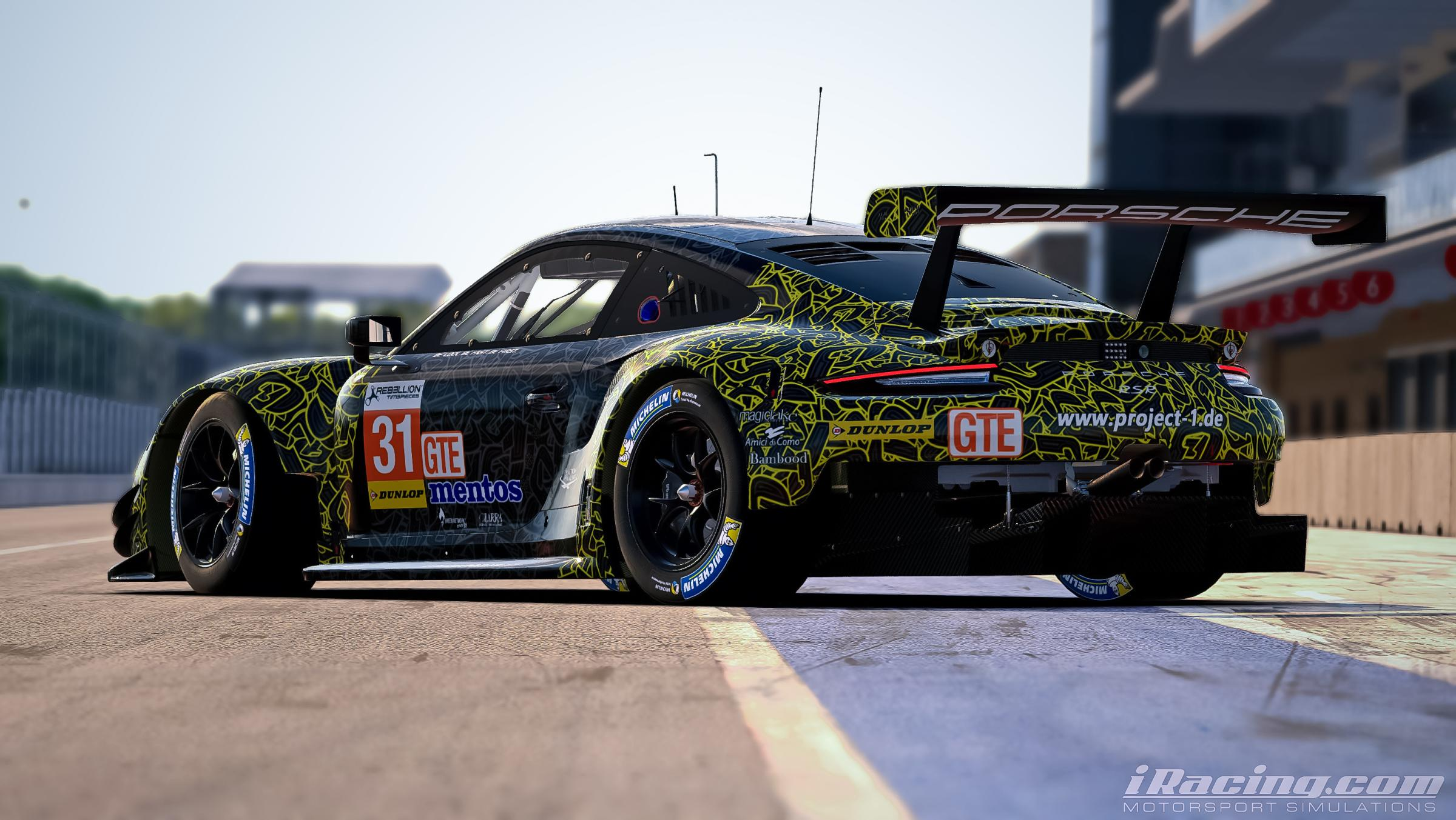 Preview of Project1 #56 Porsche 911RSR by Yuji Asakawa