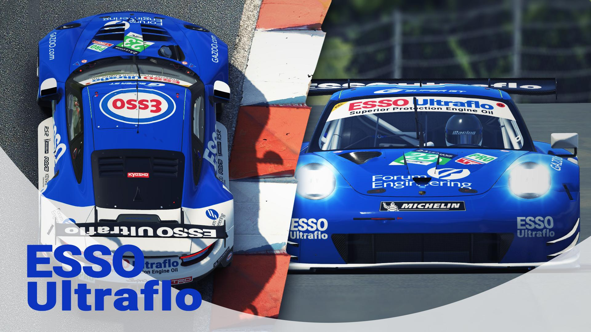 Preview of Super-GT Legends - Toyota ESSO ULTRAFLO Supra (JGTC) by Thomas Engelns