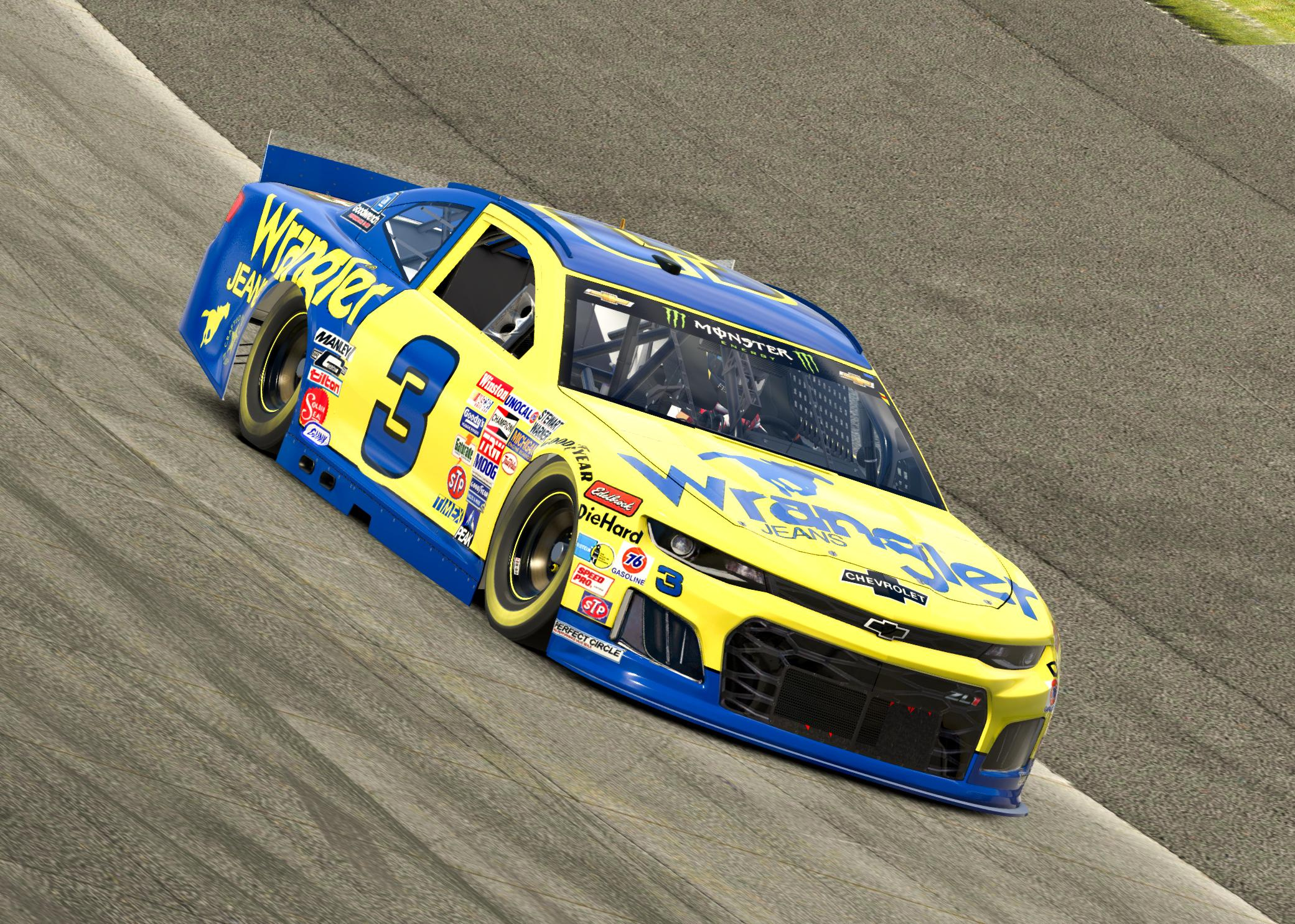 Preview of 1986 WRANGLER JEANS DALE EARNHART Chevrolet ZL1 REPLICA by Corey H.