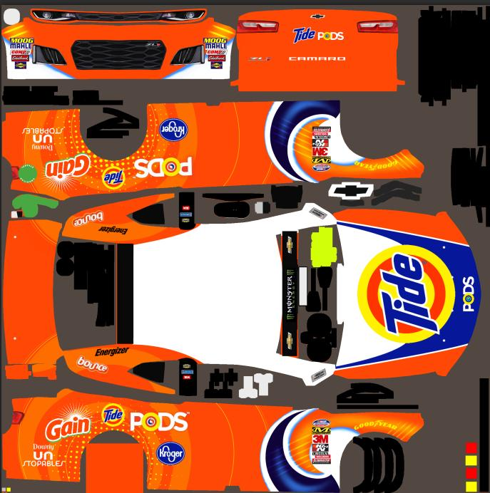 Preview of TIDE Chevy Camaro by Lupe Gonzalez