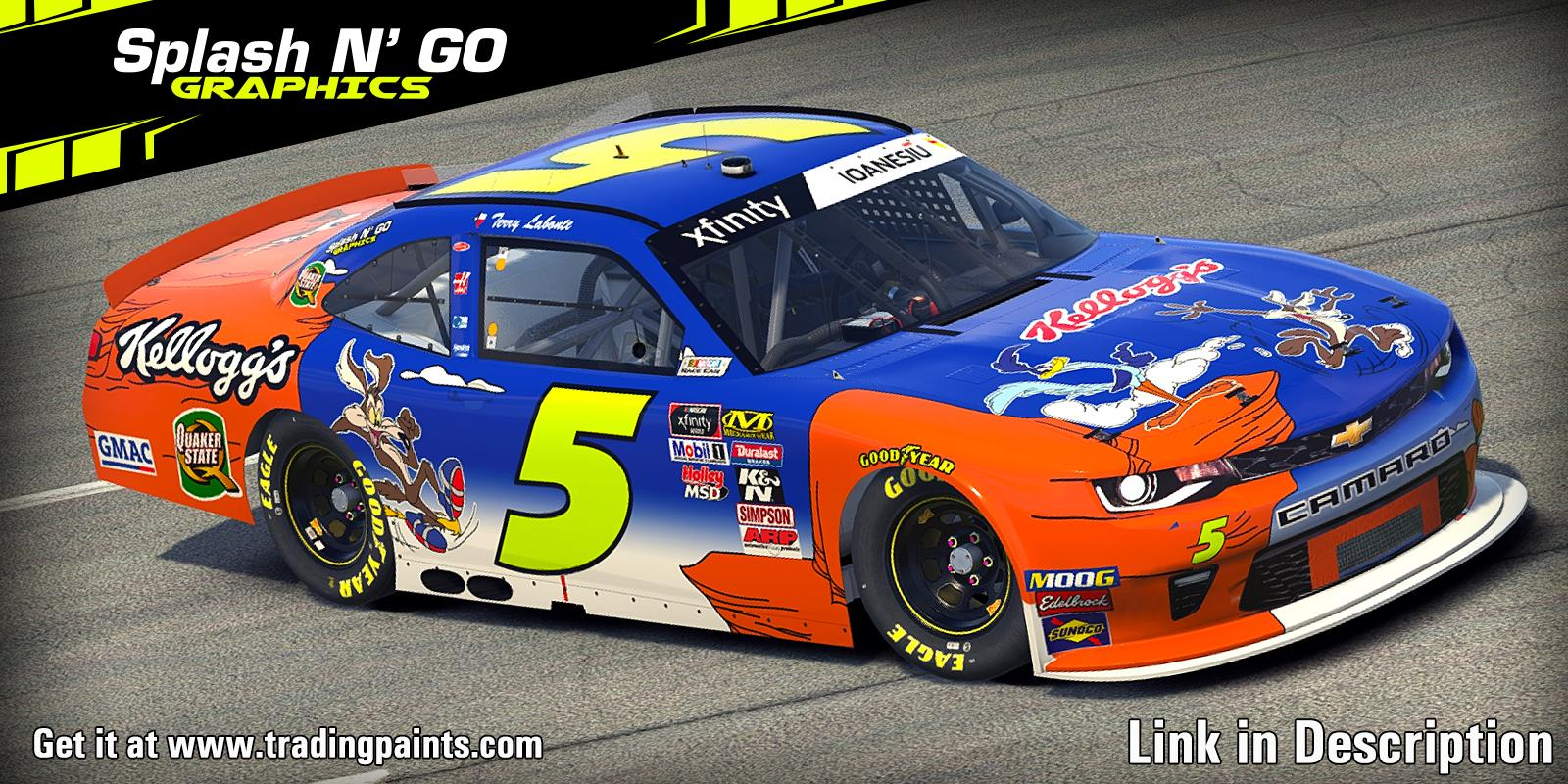 Preview of Terry Labonte 2002 Richmond Road Runner Chevrolet Camaro B by Cosmin I.
