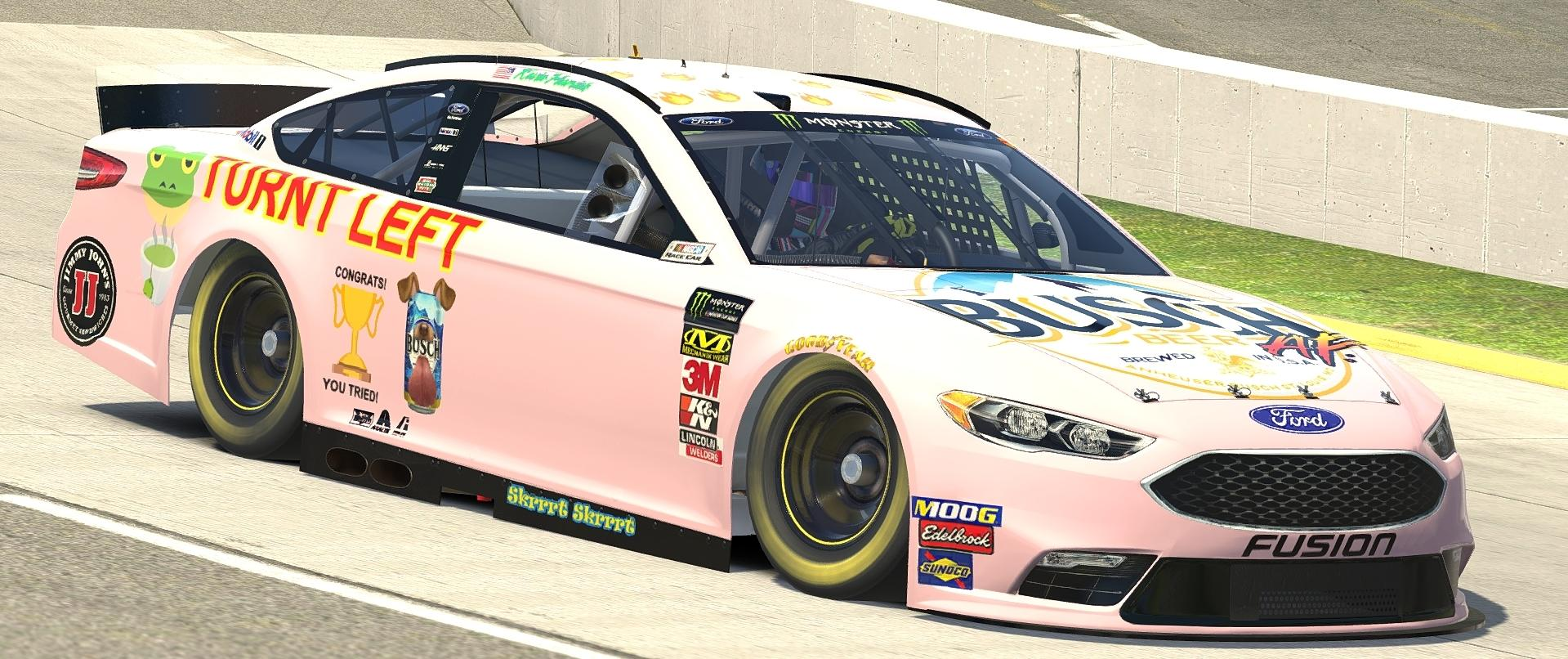 Preview of Kevin Harvick #MillennialCar by Brian C Mullin