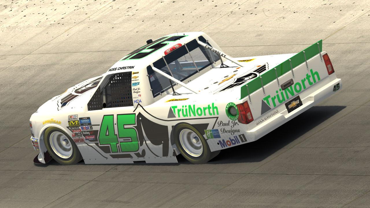 Preview of 2019 Ross Chastain Paul Jr. Designs TruNorth Silverado by Michael DiPasquale