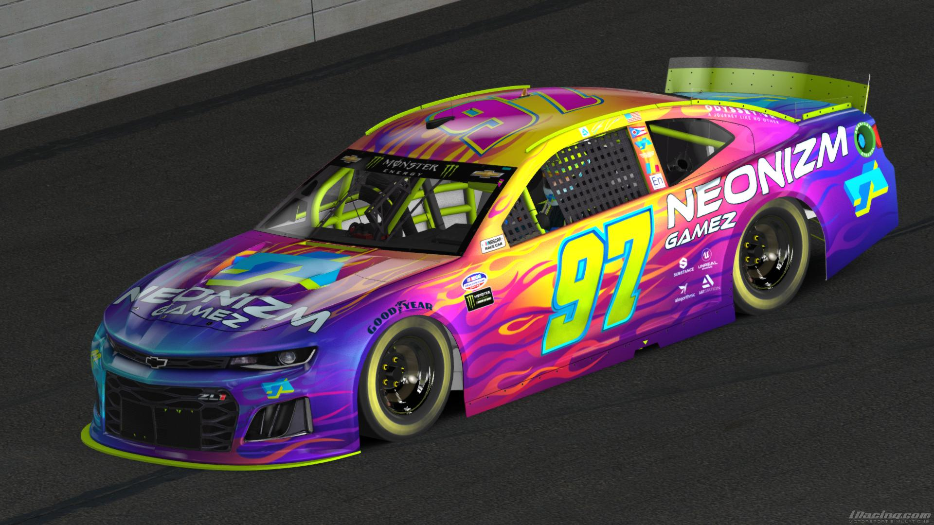 Preview of Neonizm Iridescent  ZL1 by Jesse Abraham