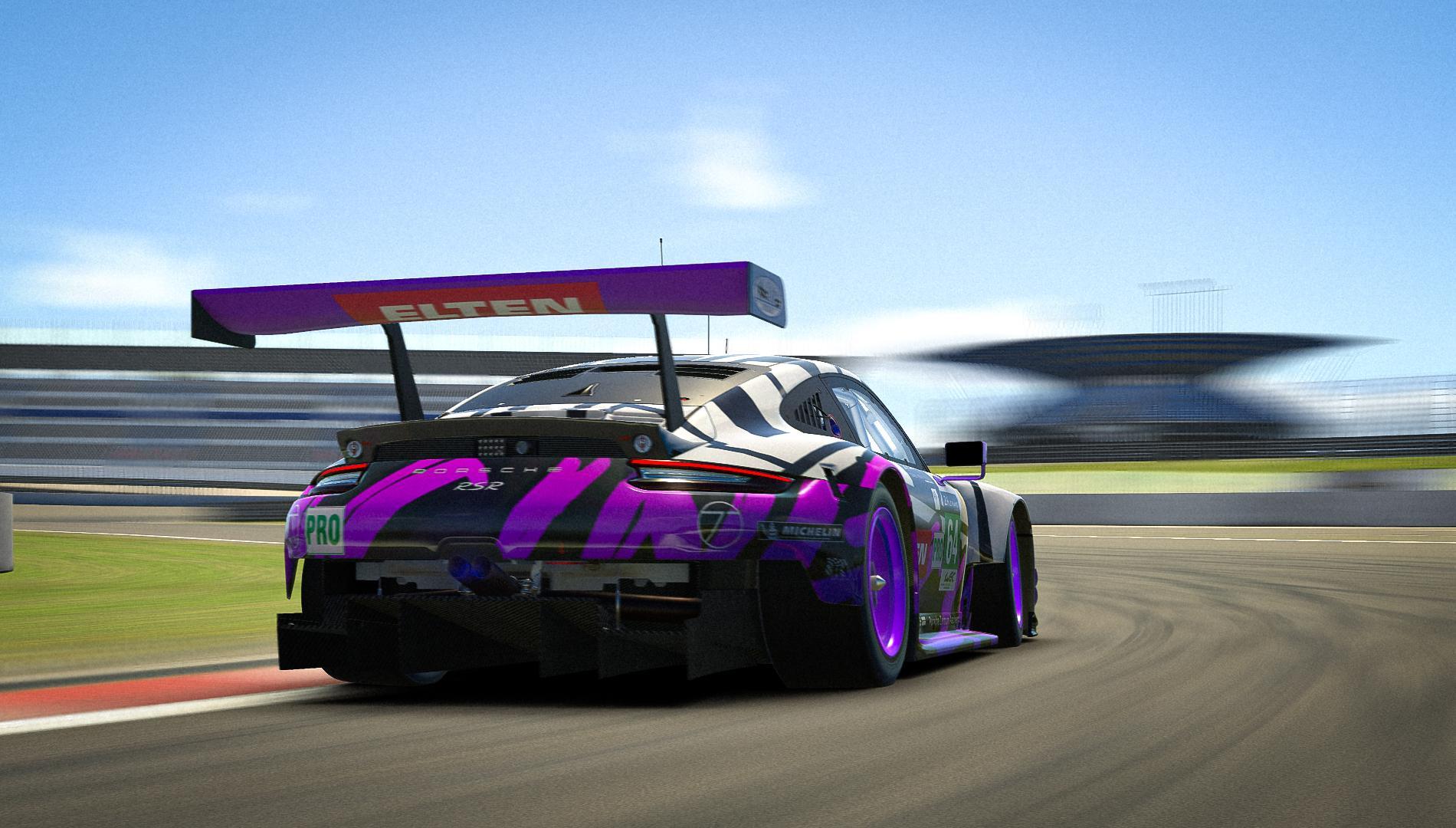 Preview of IRONFORCE Porsche 911 RSR 2019 by Dominik Gerardts