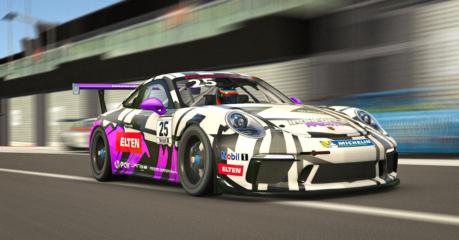 Preview of IRONFORCE Porsche 911 Cup GT3 2019 by Dominik Gerardts