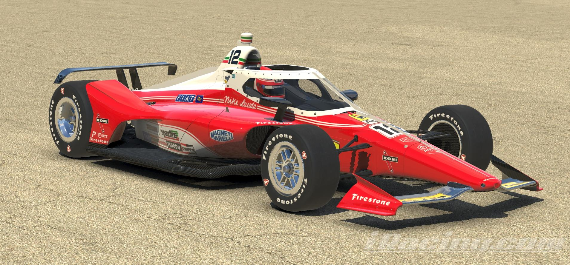 Preview of Indycar Dallara IR18 Niki 2020 by Don Craig